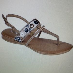 FOREVER New Sandals Taupe Ronnie Tan